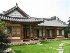This is our traditional house. Acutally these days,many people live in apartement.If u want to some experience like a taditional house, u can do that. We have a traditional house villages in Korea. Japanese Interior Design, Japanese Home Decor, Asian Home Decor, Asian Design, Japanese Architecture, Architecture Details, Traditional Japanese House, Korean Traditional, Japanese Style