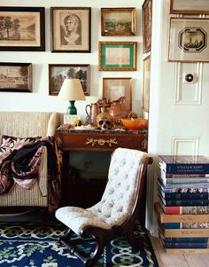 Vignette in an English home
