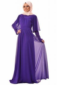 By Anna Mor Lizzy Tesettür Abiye Elbise