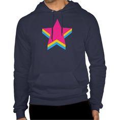 Pansexuality pride stars Sweatshirt