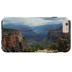 Bright Angel Trail Grand Canyon overlook Tough iPhone 6 Plus Case