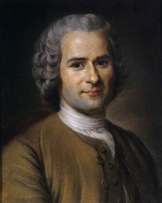 Jean-Jacques Rousseau    Philosopher, writer and general Romantic. Look at that stubble.