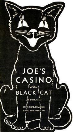 Joe's Casino Menu 1935