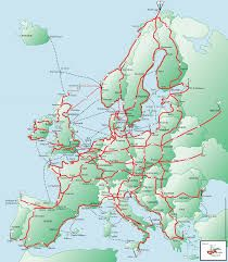 Image result for eurovelo 6 map