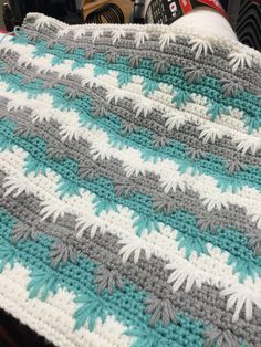 In the process of crocheting this blanket.