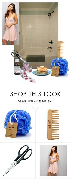 """""""Dus"""" by sena-88 on Polyvore featuring moda, The Body Shop, Rösle ve New Look"""