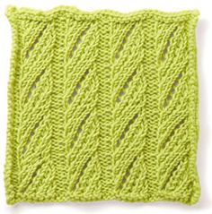 Eyelet Herringbone Stitch learn this and lots of other knitting stitches with our Stitch Library Knitting Stiches, Knitting Charts, Lace Knitting, Crochet Yarn, Knitting Patterns, Crochet Patterns, Knit Stitches, Lace Patterns, Stitch Patterns
