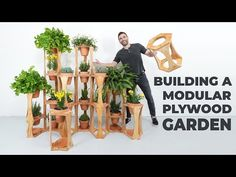 Building a Modular Plywood Garden