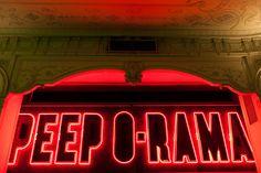 Terry Richardson's Diary : PEEP O-RAMA Terry Richardson, Photo Library, Peeps, Neon Signs, Website, Image, Art, Art Background, Kunst