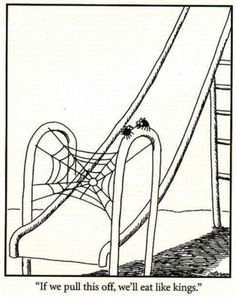 The Far Side. I loved Far Side as a kid. That may explain a few things...