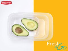 Food keeper Fresh and Go by Curver #food #foodkeeper #kitchen #lunch #box #curver
