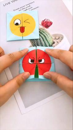 Diy Crafts Hacks, Diy Crafts For Gifts, Diy Home Crafts, Creative Crafts, Fun Crafts, Arts And Crafts, Magic Crafts, Paper Crafts Origami, Paper Crafts For Kids