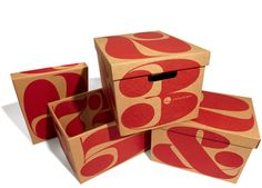 House Numbers Archive Box Three Pack: $38