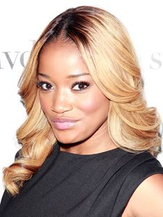 Famous Actress,Singer and Songwriter Keke Palmer with her Ojoin Restorative Hair Treatment.