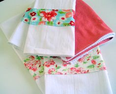 Kitchen Towel Gift Set by MissyMadeWell on Etsy, $40.00
