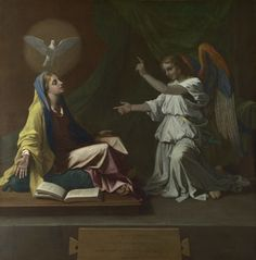 The Annunciation, 1657, National Gallery of Art, London