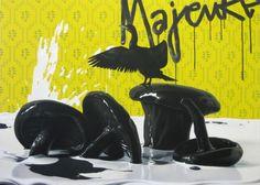 Eckart Hahn, Force Majeure, 2009, Acryl auf Leinwand, 150 x 210 cm