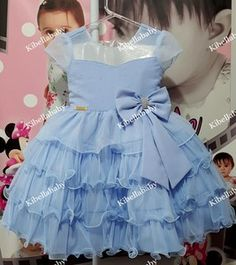 Vestido Infantil Cinderela - tam 1 ao 3