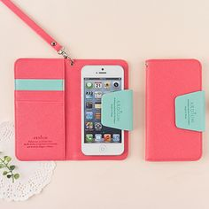 Ardium Smartphone Wallet Iphone5 so cute!