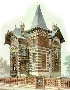 Une maison au Vésinet du XIXe siècle