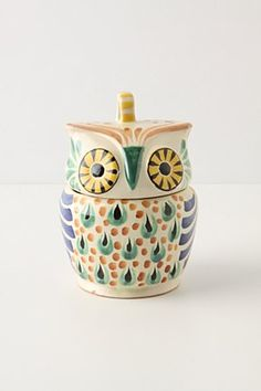 Mr. Owl Sugar Bowl | Anthropologie.eu