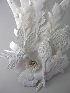 elsa mora: paper cutout