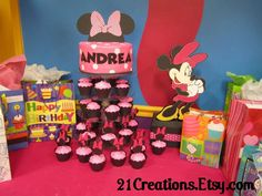 Minnie Mouse Birthday Party Ideas | Photo 26 of 28 | Catch My Party