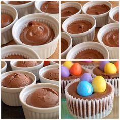 Čokoládové minicheesecakes - Avec Plaisir