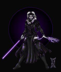 Twilek Inquisitor by Myandra.deviantart.com on @deviantART