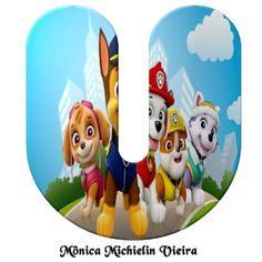 Donut Cartoon, Paw Patrol Decorations, Printable Alphabet Letters, Decoupage, Lettering, Topper, Gabi, Frozen, Template