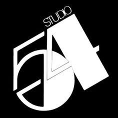 Party at Studio 54 Typography Logo, Art Logo, Logos, Studio 54 New York, Studio 54 Disco, Disco Party, Disco Cake, Disco Disco, Boogie Nights