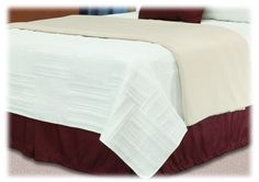 Boardwalk Reversible Quilted Coverlet | National Hospitality Supply