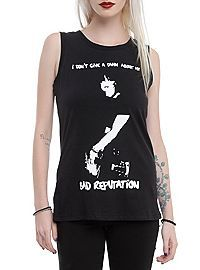 HOTTOPIC.COM - Joan Jett Bad Reputation Girls Muscle Top