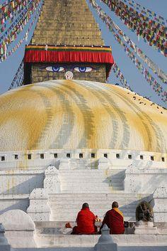 Boudnath Stupa, Kathmandu
