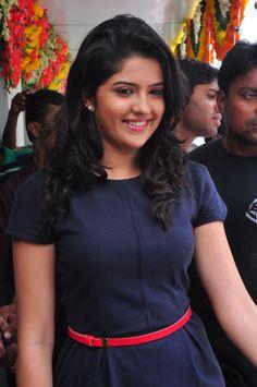 Deeksha Seth Shy At Public Meet
