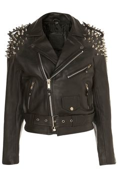 Trend Alert: Punk Leather Jackets by Topshop