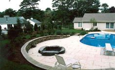 Pools Built On A Slope Swimming Pools And Retaining