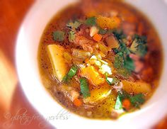 New Mexican Stew with Ground Turkey and Green Chiles