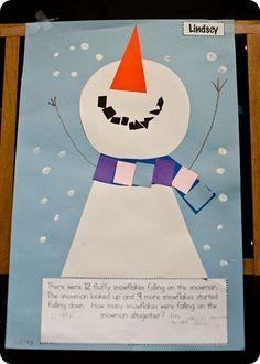 January Bulletin Board. Courtesy of The First Grade Parade!