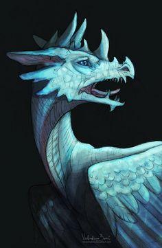 Stark by Nimphradora on deviantART Dragon Horns, Dragon Head, Dragon Art, Fantasy Creatures, Mythical Creatures, Dragons, Dragon's Lair, Year Of The Dragon, Dragon Pictures