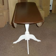 Easy Way To Make A Drop Leaf Table, Diy, How To, Painted Furniture
