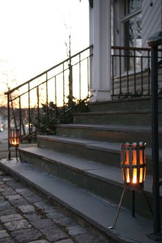 Der kleine Feuerkorb Hilding von Röshults. Einfach schön.  The small Firebasket from Röshults, a peace of swedish Design.