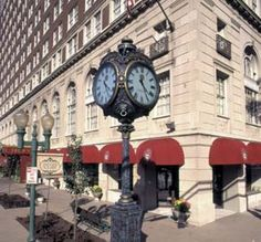 ♥ ⚜ The Brown Hotel in Louisville, KY. Where the Kentucky Hot Brown was created by Fred K. Schmidt in 1926. ⚜