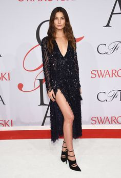 Lily Aldridge bei den CFDA Awards