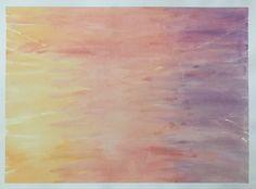 "Madison Bishop - original - ""sun set side"" - watercolor collection  fine more at madesbish.tumblr.com and https://www.pinterest.com/madbish/madesbish-art/"