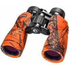 Barska Optics Crossover Binoculars, 10x42mm, Mossy Oak Blaze, Orange