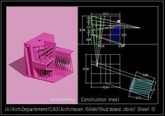 وعد جبريلالرسم المعماري بالحاسوب/ computer architectural drawing