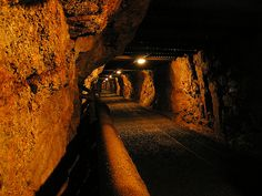 Drift of Harrachov Mine