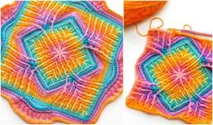 Photos: crafty_cc This beautiful square is an absolute must this winter. Designed bySandra Kuijer, ElementsCal started in December 2017 and has been a hit ever since then. There are lots of possible creations you can make - blankets, centrepieces, and pillows are most obvious. Here, we would