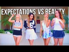 Back to School: Expectations Vs Reality - YouTube
